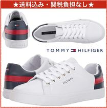 ☆Tommy Hilfiger☆トミーカラーヒール レースアップスニーカー