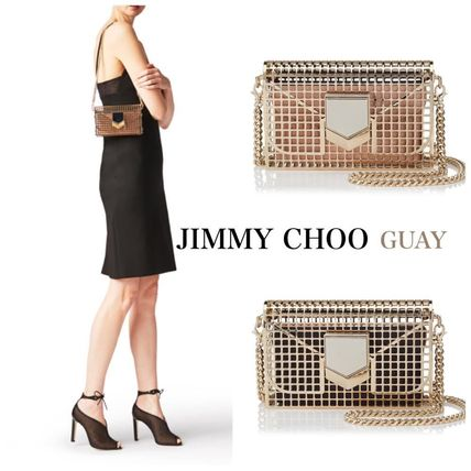 ☆人気【Jimmy Choo】クラッチバッグ☆ LOCKETT MINAUDIERE/S☆