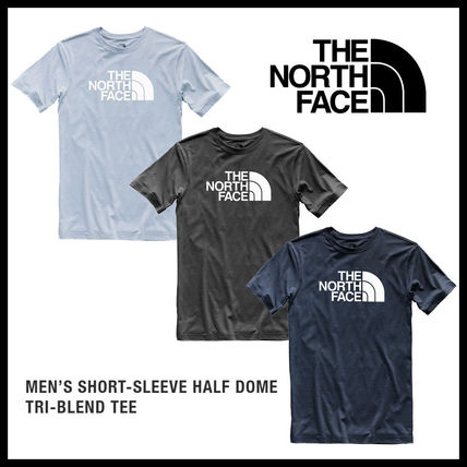 即発送料込 The North Face Half Dome Tri-Blend Tee