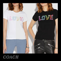 限定版☆COACH☆Tシャツ LOVE by Jason Naylor