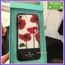 【kate spade】鮮やかなポピー柄♪iPhone7/8 case★