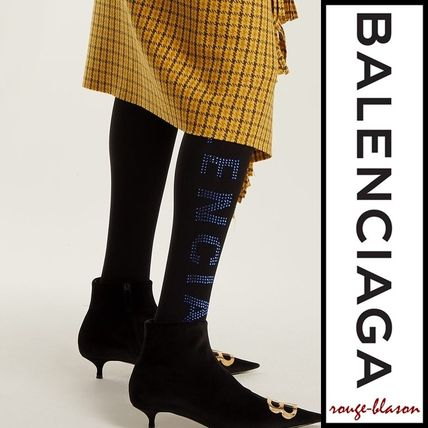 【国内発送】Balenciaga タイツ Crystal,embellished tights