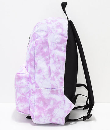 9fd7ee5f3405 ... VANS バックパック・リュック  関税込 VANS  Sporty Realm Violet Cloudwash Backpack ...