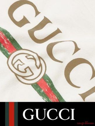 GUCCI ベビー用トップス  【国内発送】Months 3 - 36 printed cotton-jersey T-shirt(5)