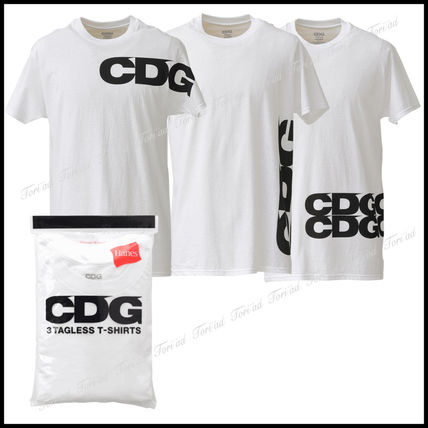 1d074747 COMME des GARCONS Tシャツ・カットソー コムデギャルソン☆CDG×HANES Tシャツ3枚