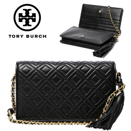 a3bd08329d61 Tory Burch ショルダーバッグ・ポシェット Tory Burch☆FLEMING FLAT WALLET CROSS-BODY 46449  001 ...