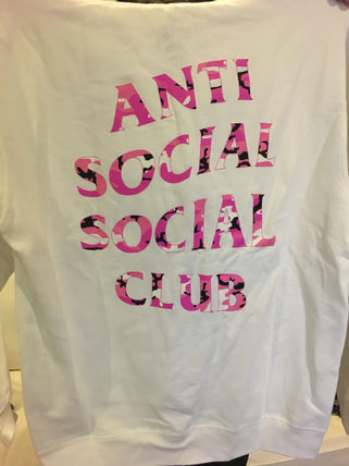 在庫一掃セール!ANTI SOCIAL SOCIAL CLUB Beverly White Hoodie