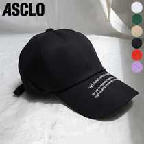 ★ASCLO★ Nothing lettering ball cap