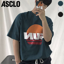 ASCLO(エジュクロ) Tシャツ・カットソー ★ASCLO★ BEFORE SUNSET SHORTSLEEVED T SHIRTS