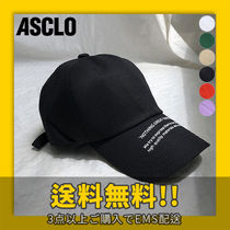 ASCLO(エジュクロ) キャップ ★ASCLO★ Nothing lettering ball cap