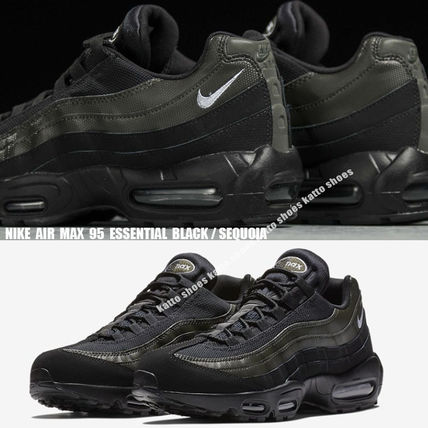 buy popular cd7e1 959be NIKE★AIR MAX 95 ESSENTIAL★25~29cm★BLACK/SEQUOIA