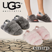 18AW☆★UGG★GIRLS★FLUFF YEAH SLIDEサンダル[13.5~19.5cm]