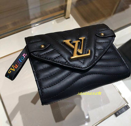 size 40 0354f f2261 LV NEW WAVE WALLET ヴィトン 折りたたみ財布 国内発送 2018AW