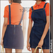 【国内発送・関税込】TOPSHOP★Denim Pinafore Dress