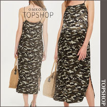 【国内発送・関税込】TOPSHOP★MATERNITY Camouflage Slip Dress