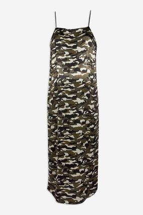 TOPSHOP マタニティワンピース 【国内発送・関税込】TOPSHOP★MATERNITY Camouflage Slip Dress(2)
