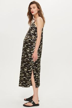 TOPSHOP マタニティワンピース 【国内発送・関税込】TOPSHOP★MATERNITY Camouflage Slip Dress(3)