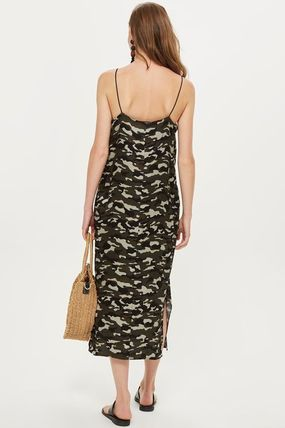 TOPSHOP マタニティワンピース 【国内発送・関税込】TOPSHOP★MATERNITY Camouflage Slip Dress(4)
