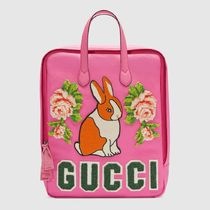 GUCCI★キッズ用Canvasバックパックwith rabbit