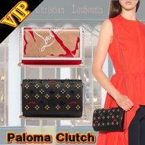 "◆◆VIP◆◆ Christian Louboutin  ""Paloma"" Clutch 2Way Bag"