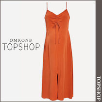 【国内発送・関税込】TOPSHOP★MATERNITY Ruch Front Midi Dress