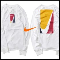 Nike(ナイキ) Tシャツ・カットソー 国内発送・正規品★NIKE SB カラーブロック L/S TEE★WHITE