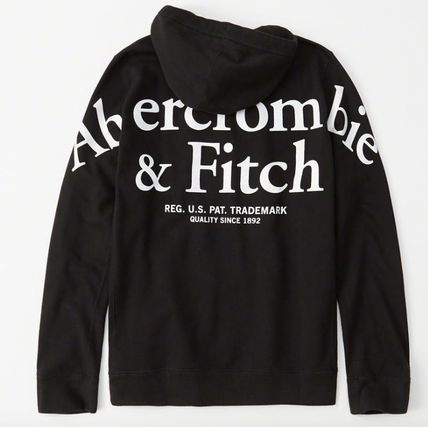 Abercrombie & Fitch パーカー・フーディ Abercrombie & Fitch(アバクロ)バッグロゴパーカー(3)