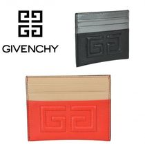 VIP価格【GIVENCHY(ジバンシィ)】LEATHER CARDS HOLDER 関税込