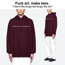 "【Fuck Art, Make Tees】""I Don't Like Drugs But"" Hoodie"