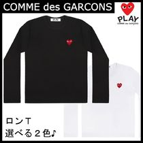 """COMME des GARCONS"" ロング Tシャツ Red Play♡Ladies"