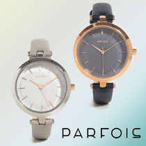 【NEW COLLECTION☆】Silver Watch【細めのストラップ♪】