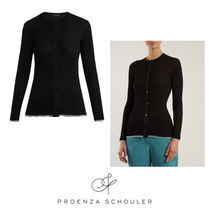 【Proenza Schouler】V-neck ribbed-knit cardigan