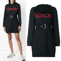 18-19AW VER148 BELTED HOODIE DRESS