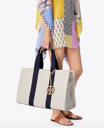 Tory Burch マザーズバッグ Tory Burch Miller canvas tote(5)
