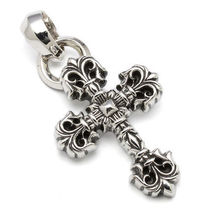 CHROME HEARTS XS FILIGREE CROSS PENDANTインボイス送料込み