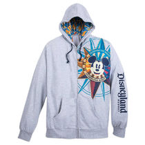 Mickey Mouse Compass Zip Hoodie for Adults - Disneyland