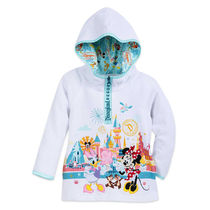 Minnie Mouse and Friends Pullover Zip Hoodie for Girls -