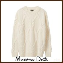 MassimoDutti♪CABLE KNIT SWEATER