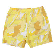 Supreme SS16 Abstract Water Short 黄 (Supremeステッカー付き)