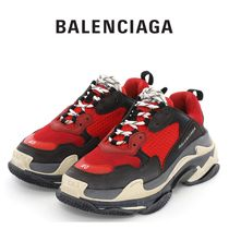 ☆送料無料 Balenciaga Triple S  Red Black☆
