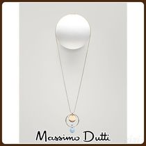 MassimoDutti♪NECKLACE WITH STONE SPHERES