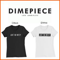 DIMEPIECE DESIGNS(ダイムピースデザイン ) Tシャツ・カットソー 新作☆DIME PIECE☆Ain't No Wifey Women's Slim Fit T-Shirt