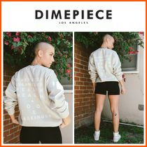 DIMEPIECE DESIGNS(ダイムピースデザイン ) スウェット・トレーナー 新作☆DIME PIECE☆Health & Wealth Sweatshirt in Sandstone