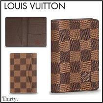 Louis Vuitton【直営店買付け】ダミエ コンパクト カードケース