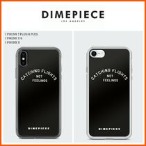 DIMEPIECE DESIGNS(ダイムピースデザイン ) スマホケース・テックアクセサリー ☆DIME PIECE☆Catching Flights Not Feelings iPhone Case
