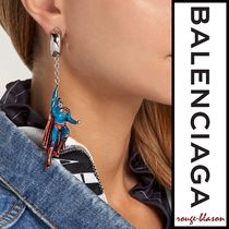 【国内発送】Balenciaga ピアス Superman single earring