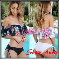 【送料無料!】★AMI Clubwear★Sexy♪Floral Off The Shoulder
