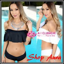 【送料無料!】★AMI Clubwear★Sexy♪Off The Shoulder Ruffle