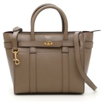 Mulberry Bayswater  クラシックグレイン / CLAY色