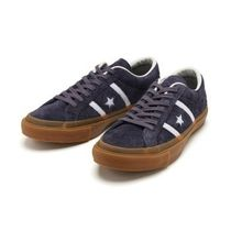 国内配送 CONVERSE STAR & BARS SUEDE GM CHACOAL